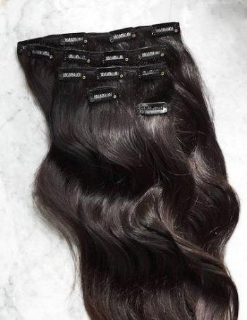 Image of VIRGIN INDIAN BODY WAVE CLIP ONS